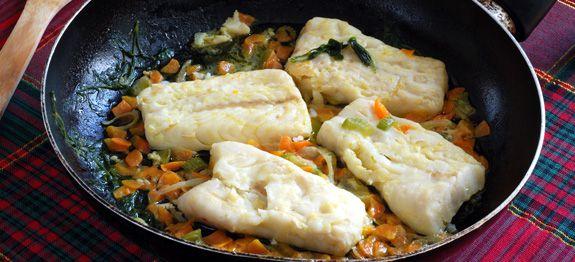 Ricetta Filetto Di Merluzzo Stufato Con Cipolle Cucinarepesce Com