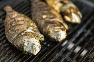 Come cucinare pesce al barbecue