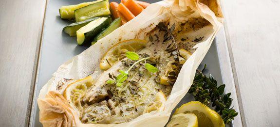 Come cucinare pesce al cartoccio
