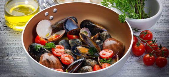 come cucinare frutti di mare surgelati