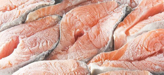 salmone surgelato