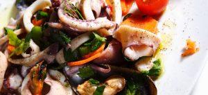 insalata di mare surgelata