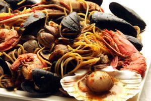 Spaghetti allo scoglio surgelato